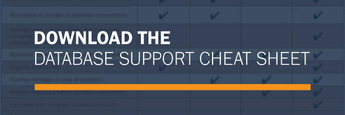 Download the Database Support Cheat Sheet